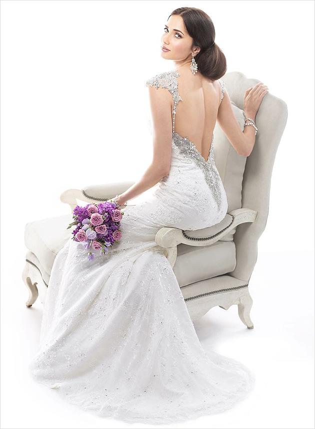 Maggie Sottero gown at Providence Place Bridal in Rockwall