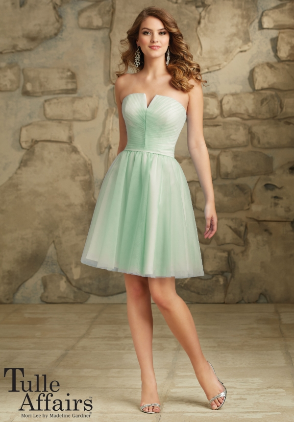 ml112 tulle mint short front