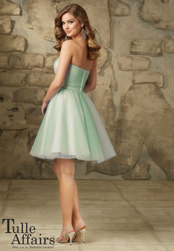 ml113 tulle mint short back