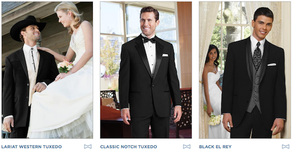 Gold Tuxedo Collection - Tuxedo Rentals East Dallas - Providence Place Bridal