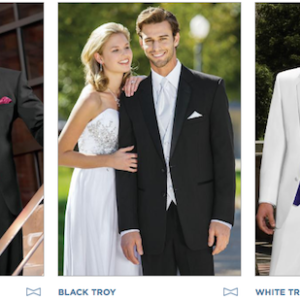 Platinum Tuxedo Collection - Tuxedo Rentals East Dallas - Providence Place Bridal