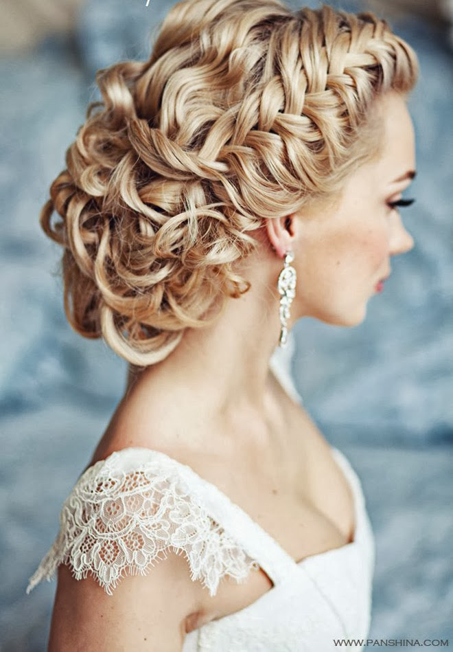 Wedding hair at Providence Place in Rockwall