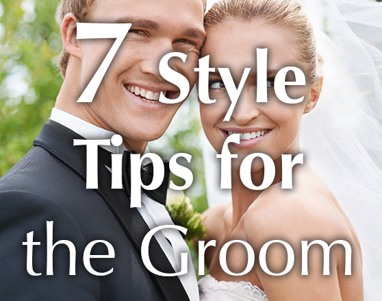 Style tips for the groom