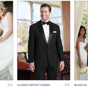 Gold Tuxedo Collection - Tuxedo Rentals East Dallas - Providence Place Bridal